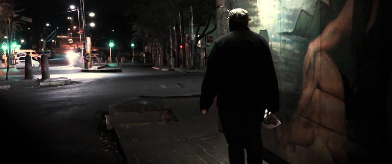 Kadr z filmu Spacer z Aniołami
