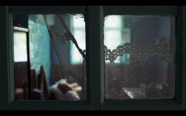 Kadr z filmu Mój wujek Tudor