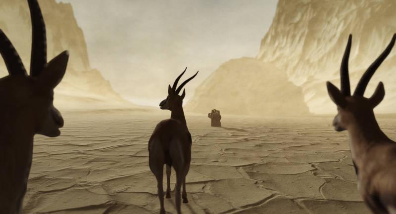Kadr z filmu To nie była ta góra, Mohammadzie