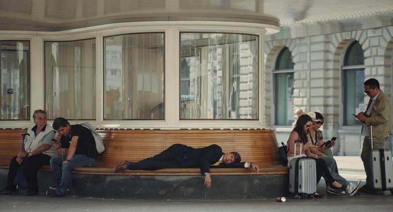 Kadr z filmu Ludzie w sobotę