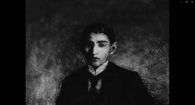Kadr z filmu Franz Kafka