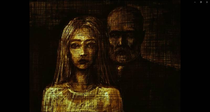 Kadr z filmu Łagodna