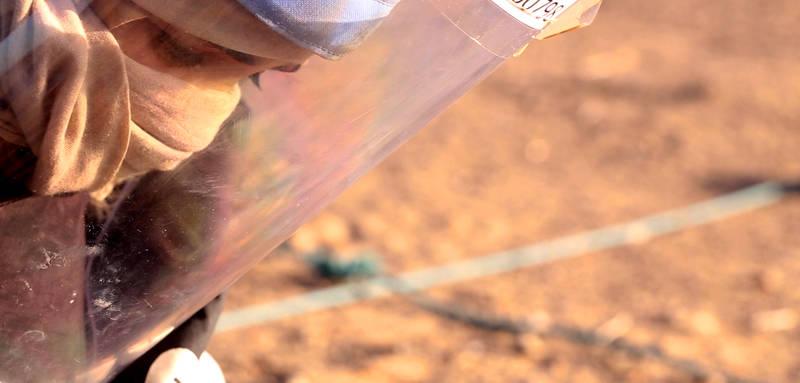 Kadr z filmu Kobieta i śmierć
