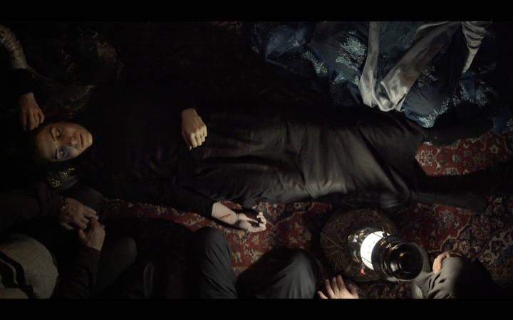 Kadr z filmu W ciemności