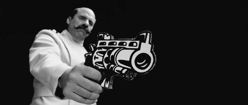 Kadr z filmu Zza szyby