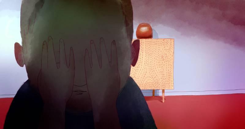 Kadr z filmu Z ukrycia