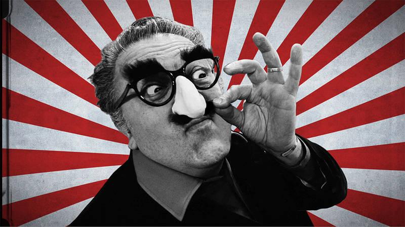 Kadr z filmu Fellinopolis