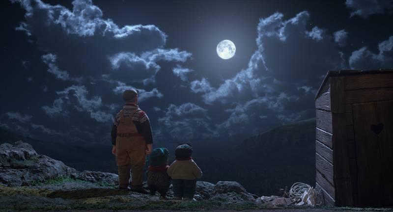 Kadr z filmu Solan i Ludwik - Misja Księżyc